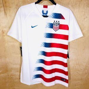 NWT Nike Team USA Women's Soccer Jersey 2018